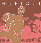 Muriqui — Stock Photo