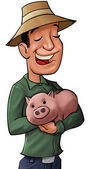 The pig bank — Stock Photo