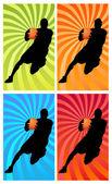 Color basketball 1 — ストック写真