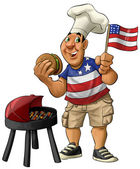 American barbecue — Stockfoto