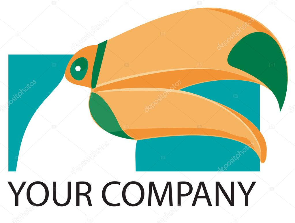 Toucan Company logo — Stock Photo #5817182