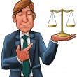 The lawyer — Stockfoto