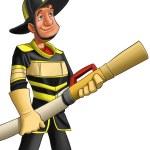 Fireman — Stock Photo #5860543