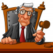Stock Photo: Judge