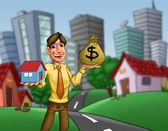 Hus möjlighet — Stockfoto