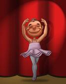 The little dancer — Stock Photo