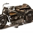 Stock Photo: Model of Motorbike