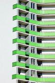 Balcony of new building — Stock Photo