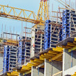 crane and highrise construction site — Stock Photo #6020429