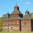 Antique wooden church — Lizenzfreies Foto