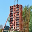 Сoncrete formwork on construction site — Stock Photo #6423361