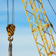 Stock Photo: Mobile tower crane
