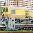 Snow removal train locomotive — Stock Photo #6471604