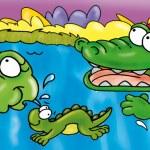 Постер, плакат: Crocodile