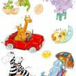 Animals, -  