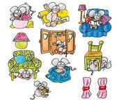 Rat, mouse, — Stock Photo