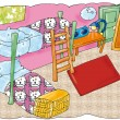 Stockfoto: Orderly room,
