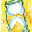 Stock Photo: Hourglass