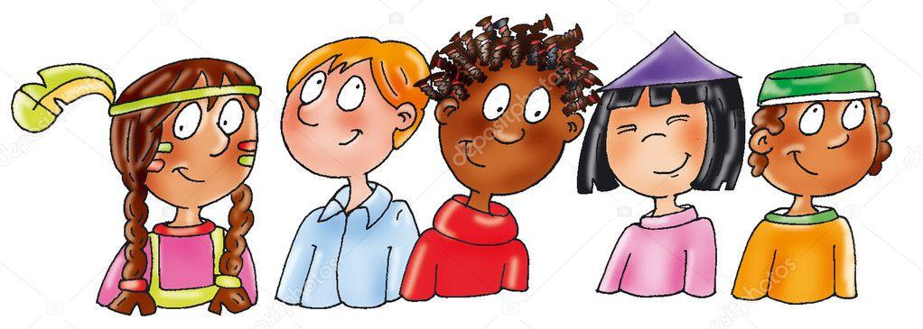 Dibujos De NiÑos Por Nacionalidades: Nacionalidades étnicas Para Niños