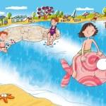 Mare,vacanze,auguri — Stock Photo #5892231