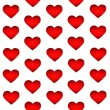 Red hearts backgrounds — Foto Stock