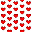 Red hearts backgrounds — Stock Photo