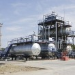 Factory on oil refining - Stock Photo
