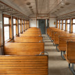 The electric train car inside — Stock Photo #5893102