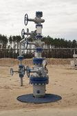 Gut für die gewinnung von kohlenwasserstoffen — Stockfoto
