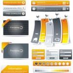 Рамка дизайна веб — Cтоковый вектор