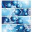 Abstract vector backgrounds - Stok Vektr