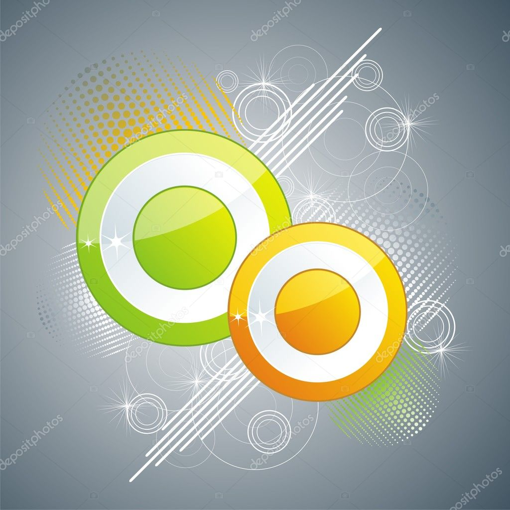 Abstract colorful background. Vector.   Stock Vector #6109569