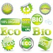Stock Vector: Eco Symbols