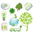 Royalty-Free Stock Vector Image: Eco Symbols