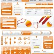 Vector de stock : Web Design Frame