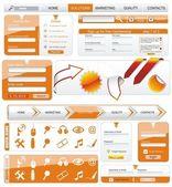 Cadre de conception web — Vecteur