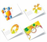 Vector business card se — Stockvector
