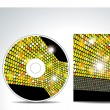 Stock Vector: Vector cd cover