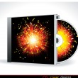 Royalty-Free Stock Vector Image: Vector cd cover