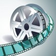 Royalty-Free Stock Vector Image: Cinema tape