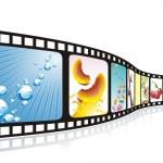 Cinema tape — Stock Vector #6220201