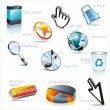 Royalty-Free Stock Vector Image: Vector icon set: web