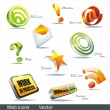Vector icon set: web — Stock Vector #6220337