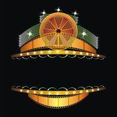 Kino-neon — Stockvektor