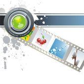 Cinema tape — Stock Vector