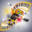 Royalty-Free Stock Vector Image: Music banner