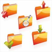 Pictogrammen van de omslag — Stockvector