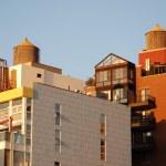 New York rooftops - Manhattan — Stock Photo #5834302