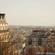 Royalty-Free Stock Photo: View over paris
