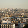 Stock Photo: View over paris